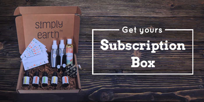 GET YOURS! Simply Earth Essential Oils subscription box
