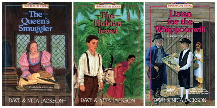 Trailblazer Books by Dave and Neta Jackson