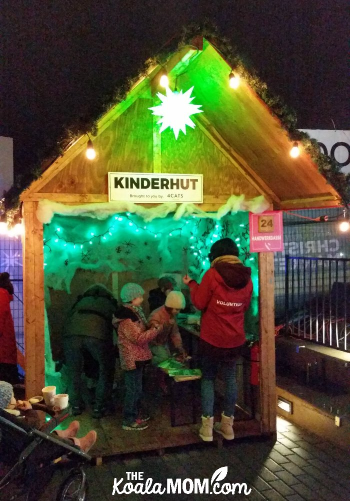 Kinderhut at the Vancouver Christmas Market