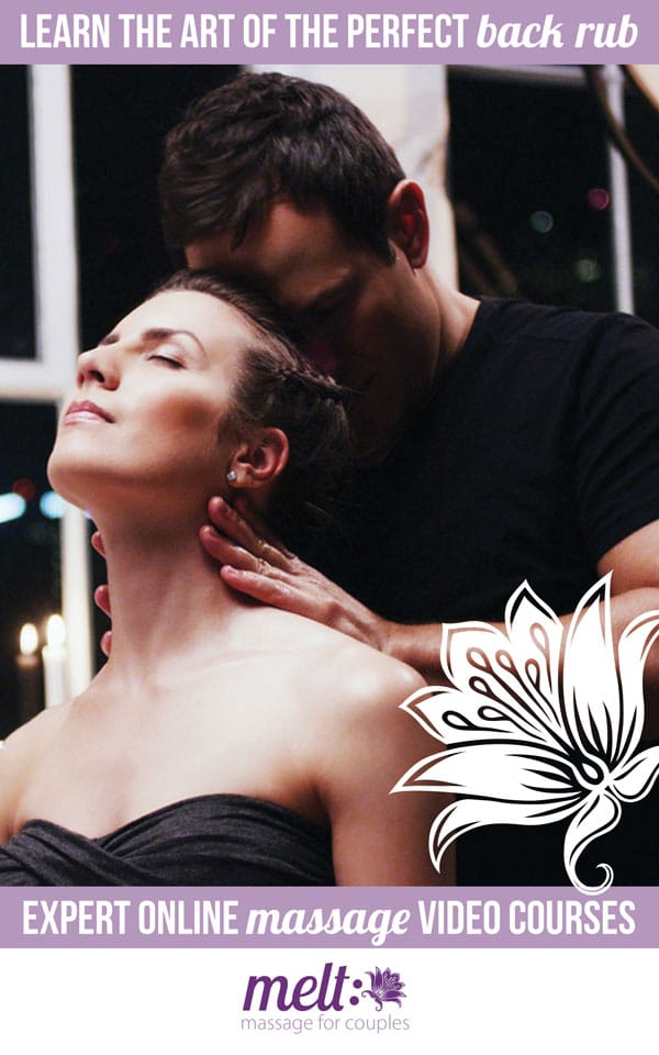 Learn the art of the perfect back rub... with expert online massage videos: MELT
