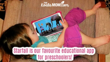 Starfall is our favourite educational app for preschoolers!