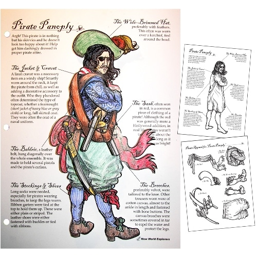 Pirate Panoply Game from Homeschool in the Woods makes history fun for kids.