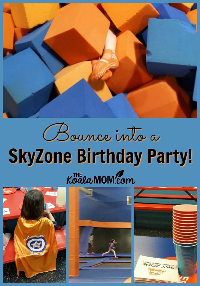 Bounce into a SkyZone Birthday Party!