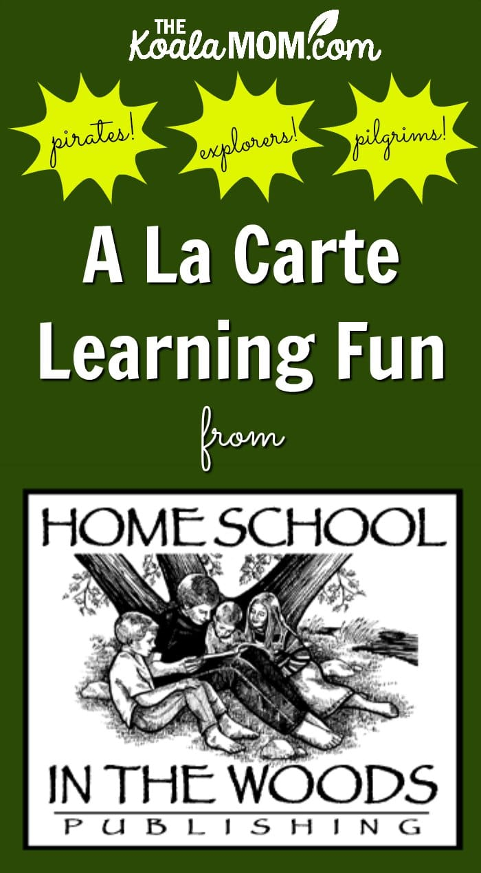 A La Carte History Fun from Home School in the Woods
