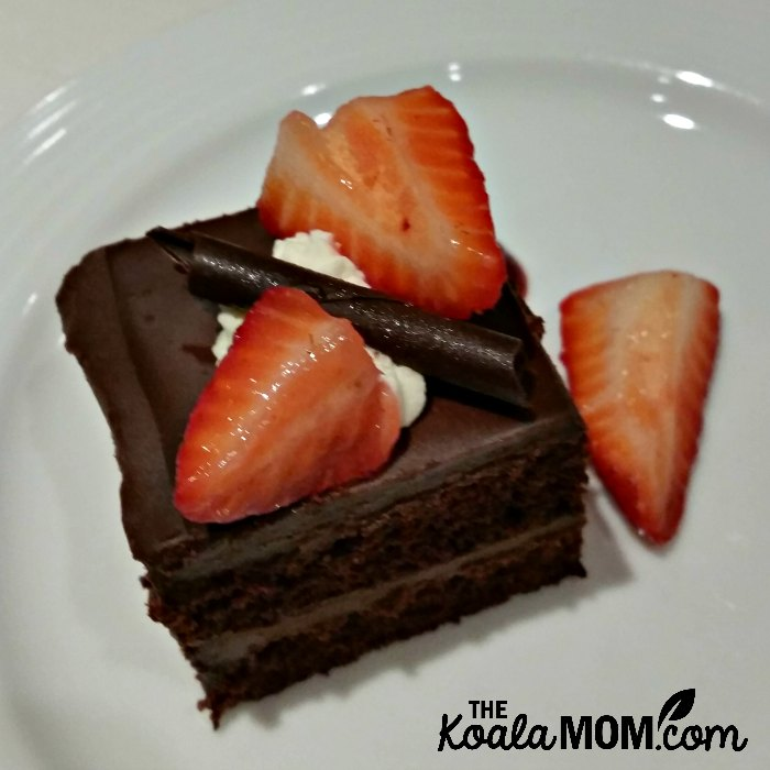 Chocolate Strawberry Dessert