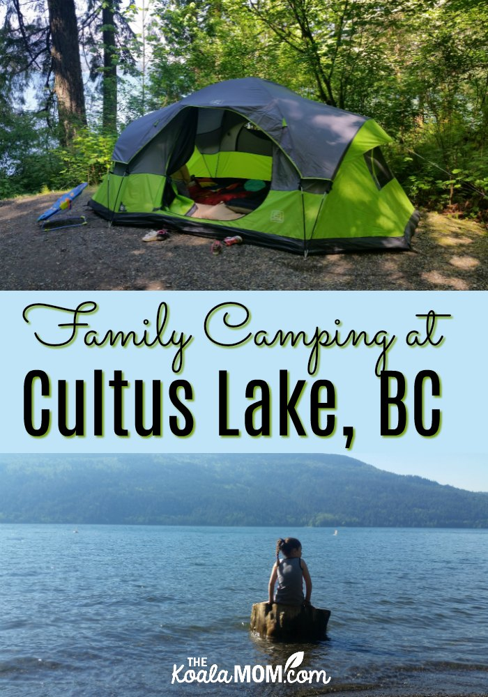 Family Camping at Cultus Lake, BC, offers a variety of activities from hiking, swimming, boating, beaches and playgrounds, and more.