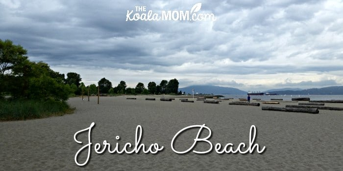 Jericho Beach in Vancouver, BC