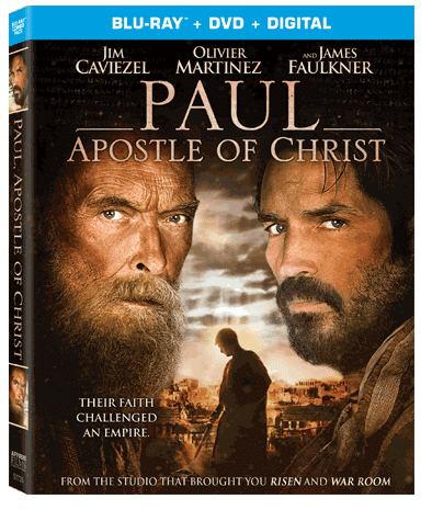 Paul: Apostle of Christ is now available on Bluray and DVD.