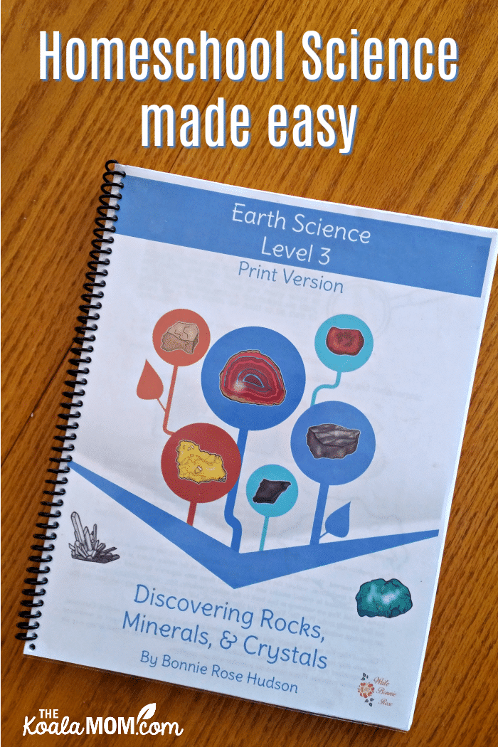 Homeschool Science made easy with the Learning About Science Collection from WriteBonnieRose