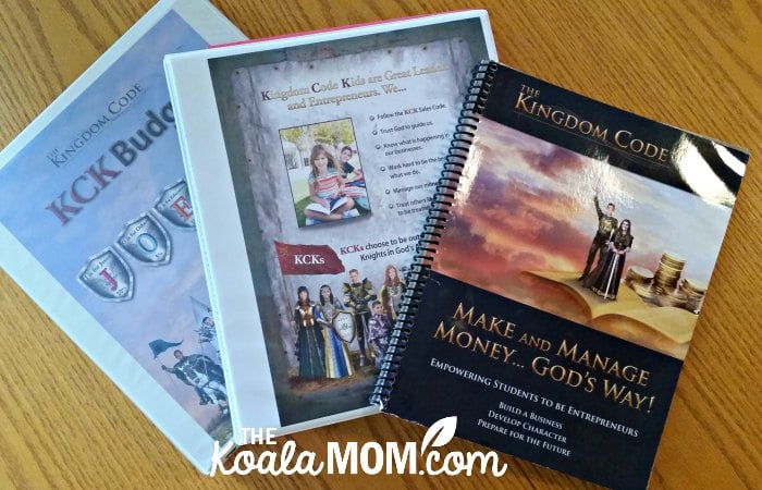 The Kingdom Code Complete Starter Kit includes a teacher guide, student packet, and textbook.