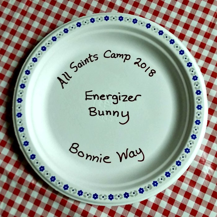 All Saints Homeschool Camp 2018 - Energizer Bunny - Bonnie Way