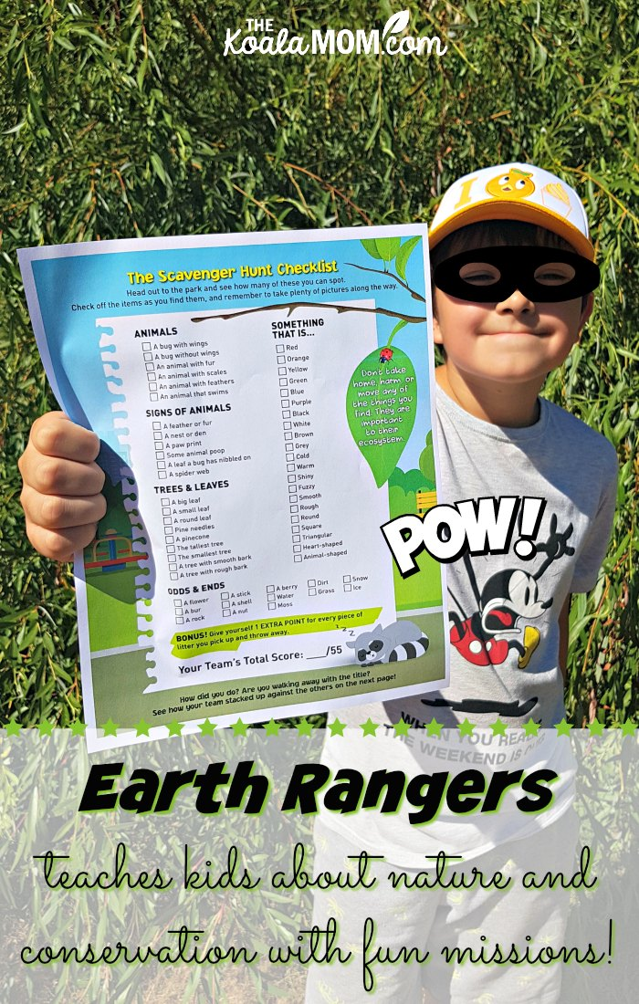 Earth Rangers teaches kids about nature and conservation!
