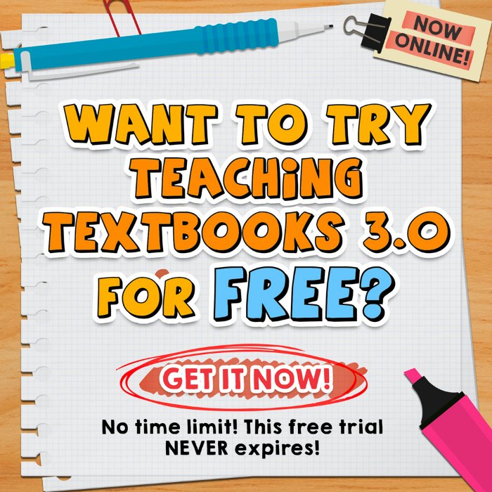 Teaching Textbooks Free Trial