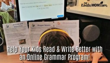 Help Your Kids Read and Write Better with an Online Grammar Program