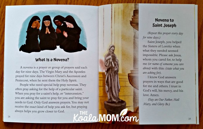 Novena to Saint Joseph in Staircase for the Sisters by Pamela Love