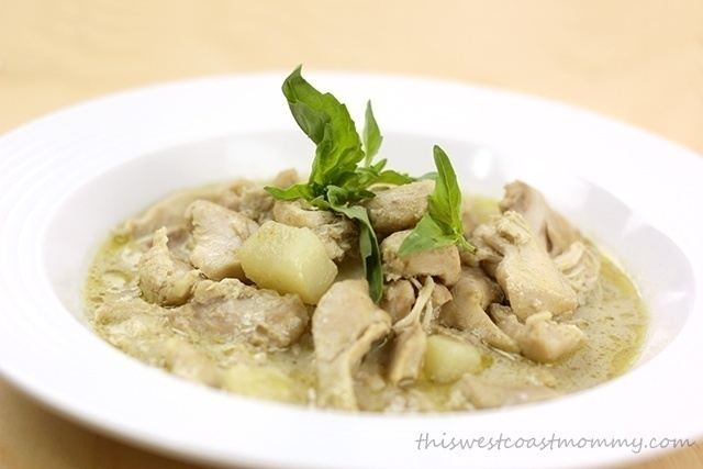 Slow Cooker Thai Green Curry Recipe