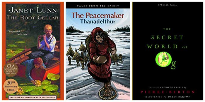 Three books for Canadian tween girls, from my list of Great Books for Canadian Tween Girls