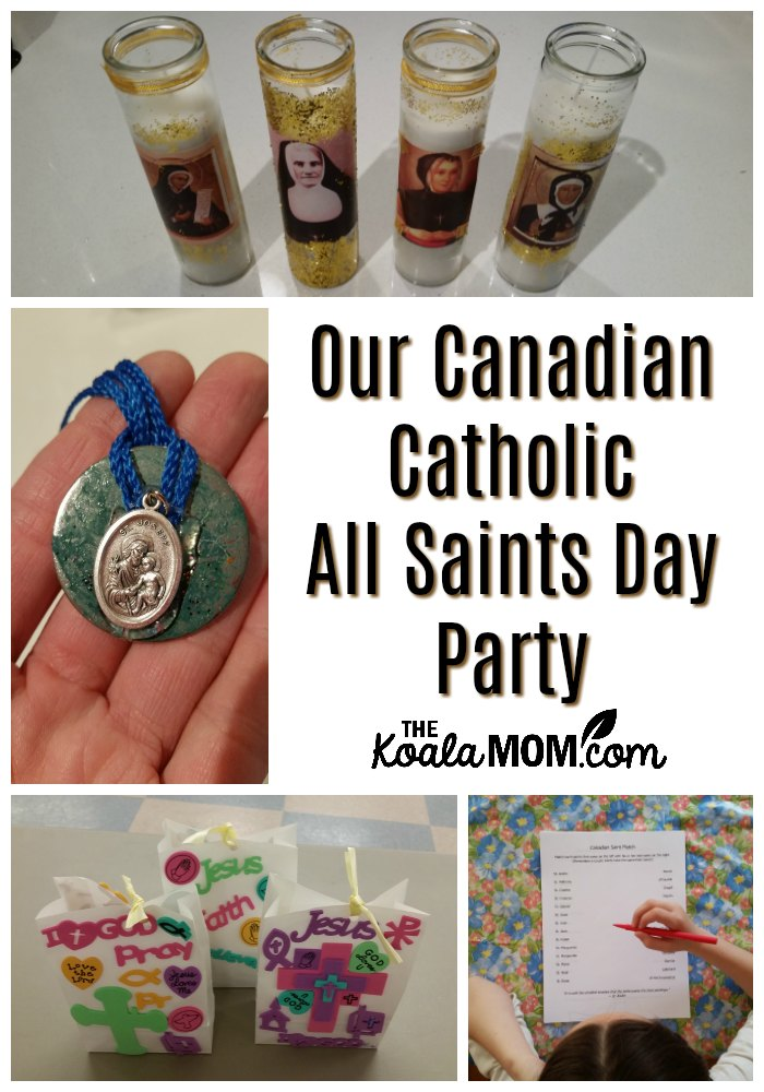 Our Canadian Catholic All Saints Day Party