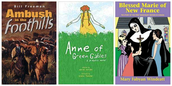Anne of Green Fables and other great novels for Canadian tween girls.