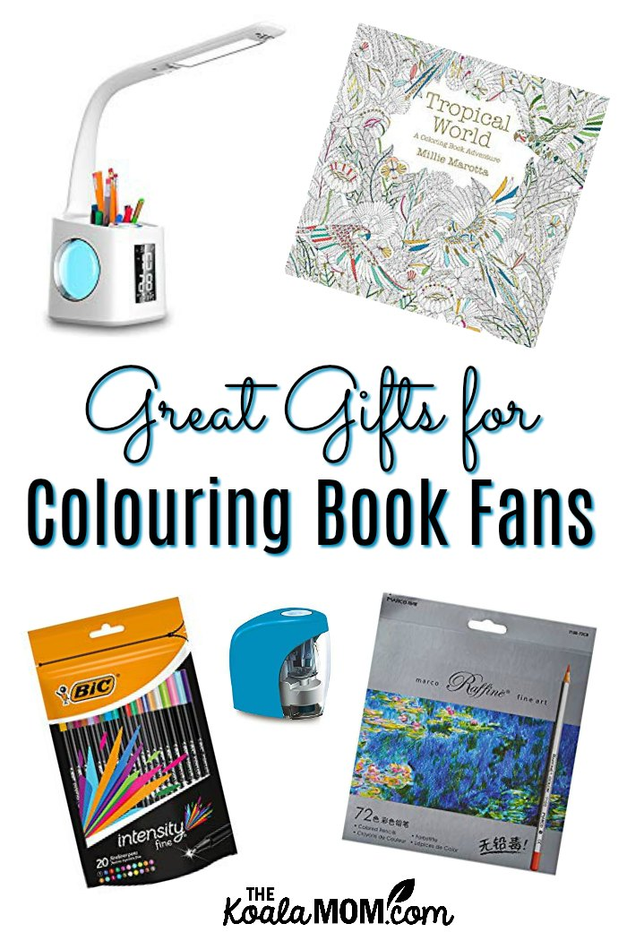 Great Gifts for Colouring Book Fans