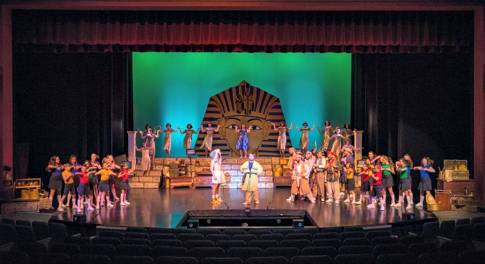 Joseph and the Amazing Technicolour Dreamcoat, produced by Align Entertainment at Michael J Fox Theatre