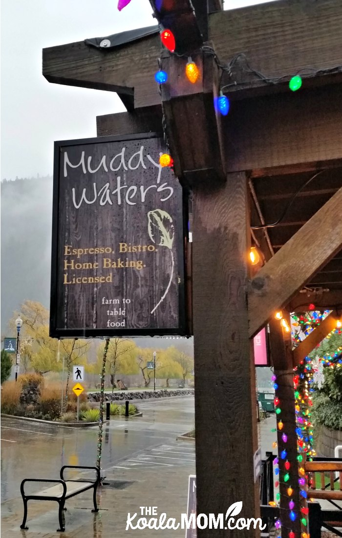 Muddy Waters Cafe in Harrison Hot Springs