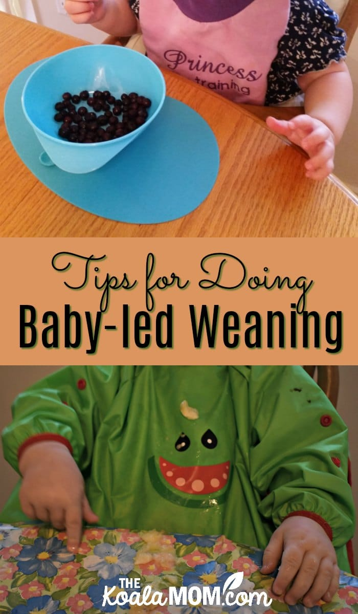 Tips for doing baby-led weaning