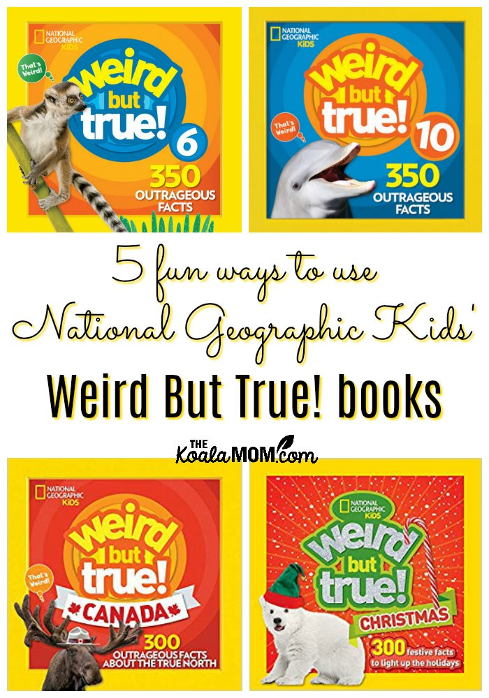 5 Fun Ways to Use National Geographic Kids' Weird But True books!
