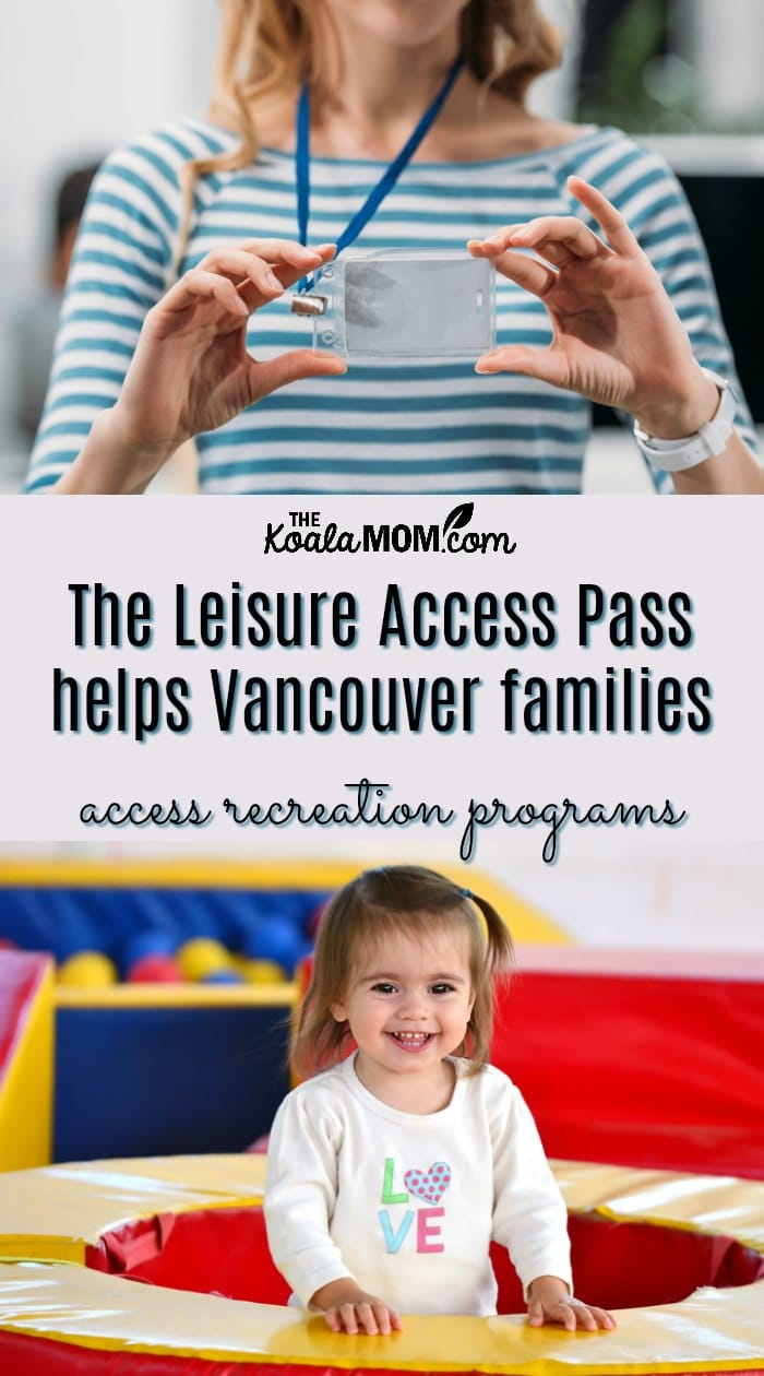 The Leisure Access Pass helps low-income Vancouver families access recreation programs.