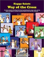 Happy Saints Way of the Cross by Victor Teh