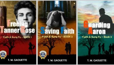 The Faith & Kung Fu series for Catholic tweens, by author T. M. Gaouette (Freeing Tanner Rose, Saving Faith, Guarding Aaron)