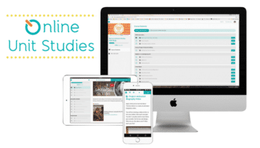 Online Unit Studies can be completed on a variety of devices.