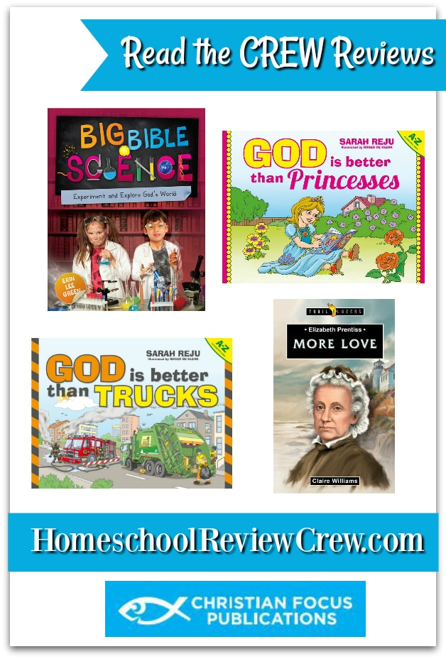 Read the CREW reviews of the Christian Focus books.