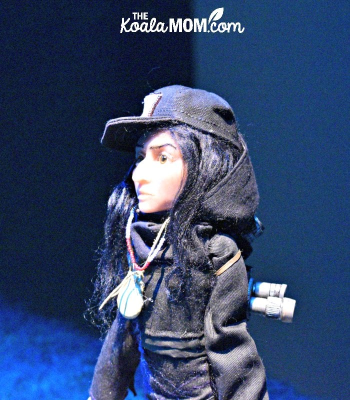 Amanda Strong's silicone puppet