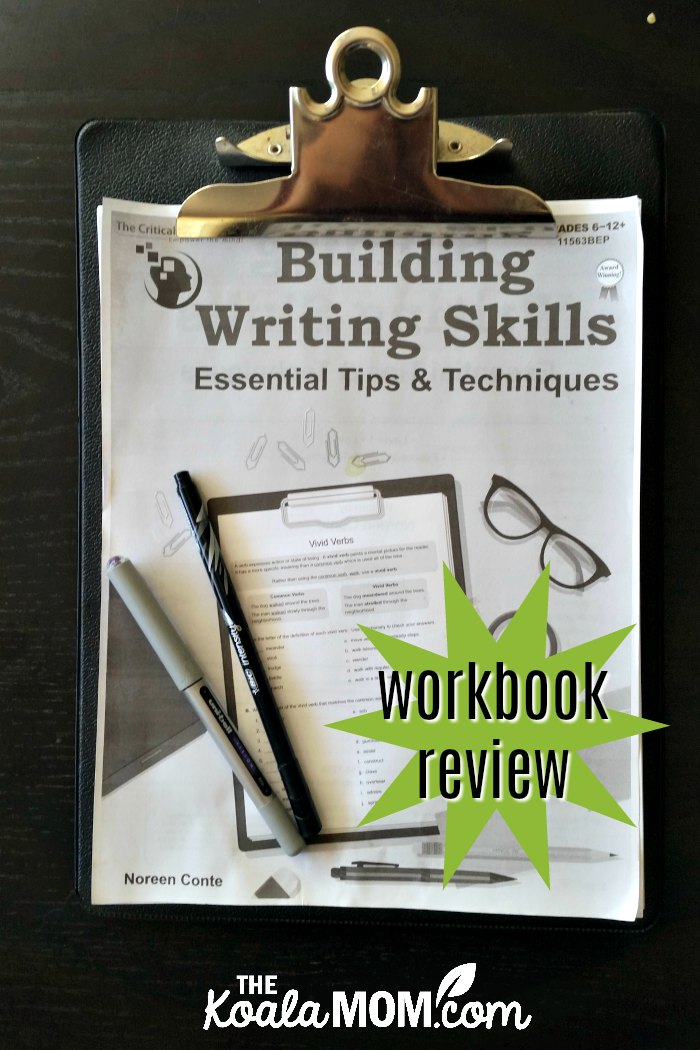 Building Writing Skills workbook review