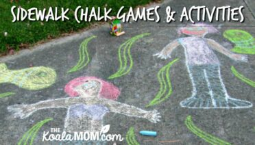 Sidewalk Chalk Games and Activities for Preschoolers