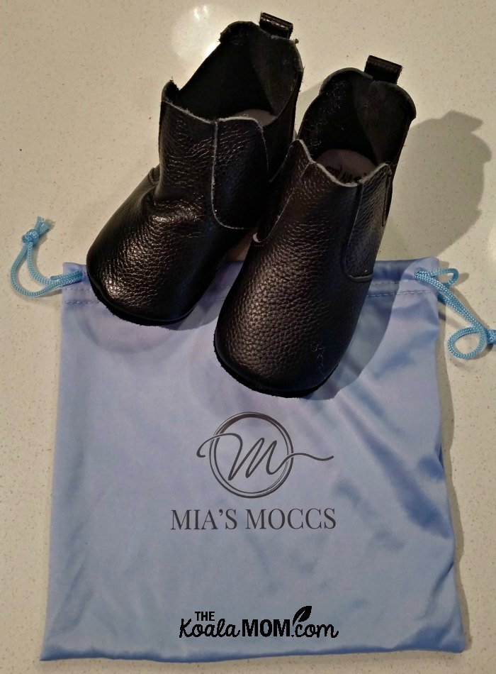 Mia's Moccs makes adorable, affordable mocccasins and boots for babies and toddlers.