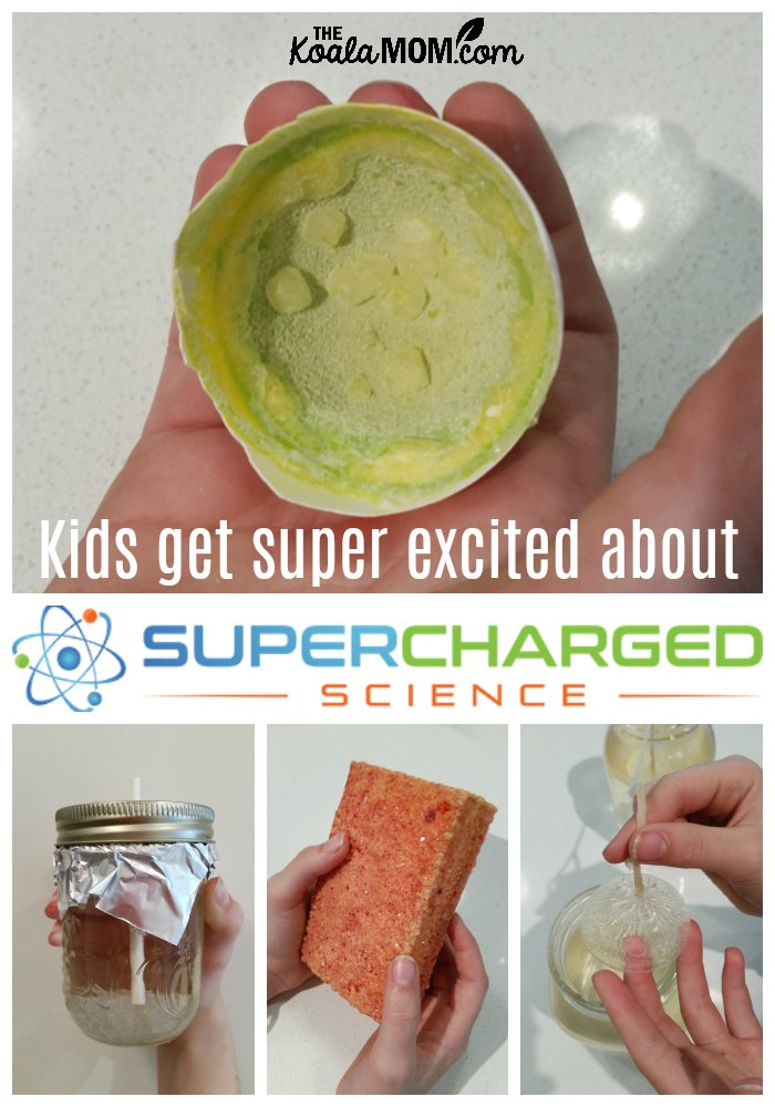 Kids get super excited about SuperCharged Science!