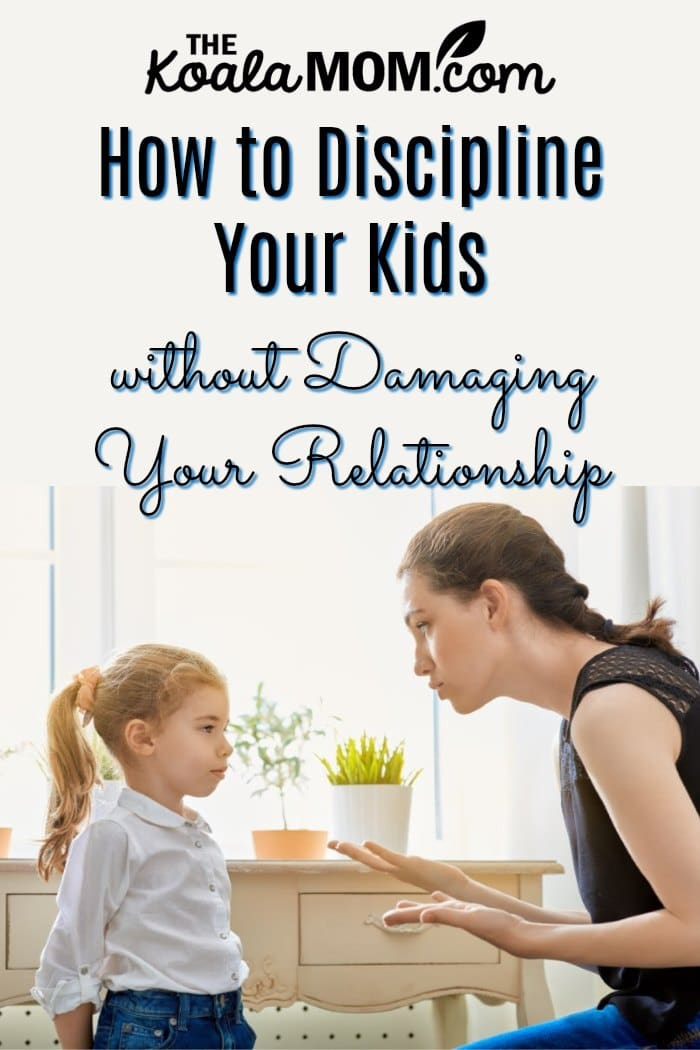 How to discipline your kids without damaging your relationship.