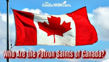 Who are the patron saints of Canada?