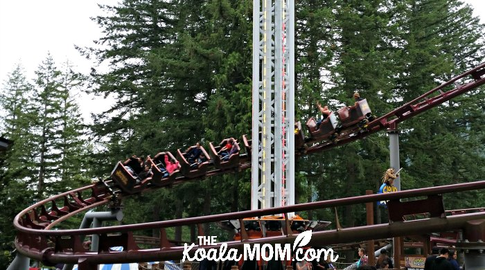 Runaway Mine Train at Cultus Lake Adventure Park