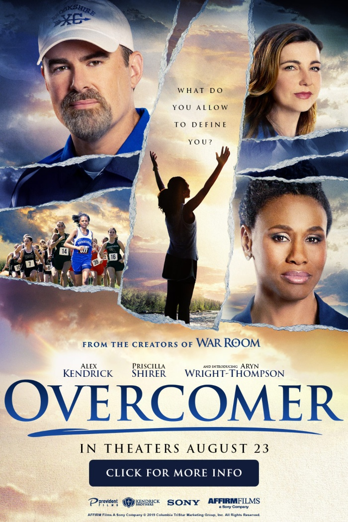 Overcomer movie, starring Alex Kendrick and Priscilla Shirer