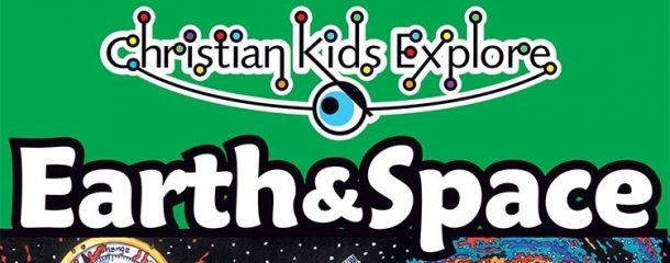 Christian Kids Explore Earth & Space textbook from Bright Ideas Press