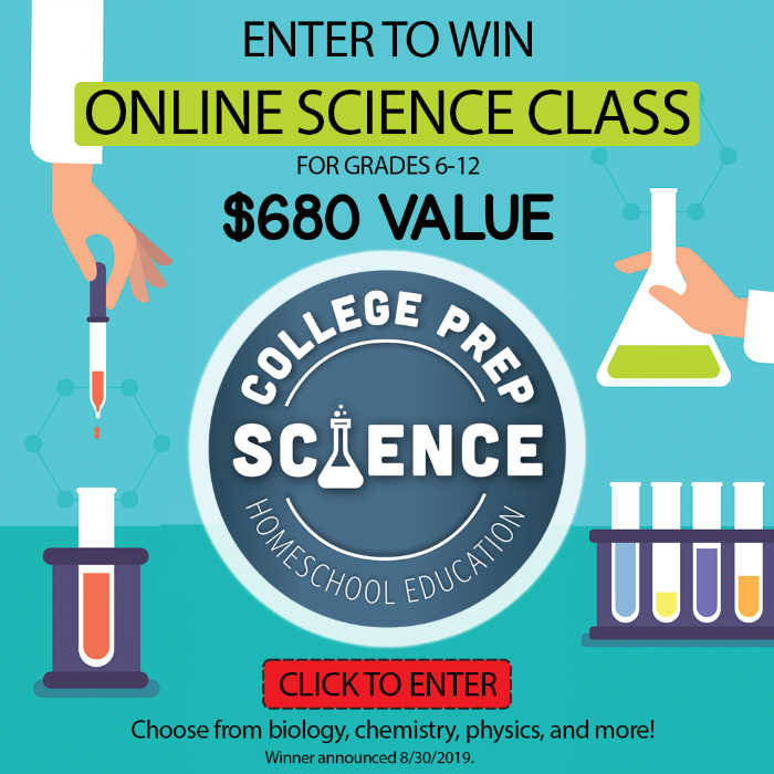 College Prep Science giveaway - $680 value!