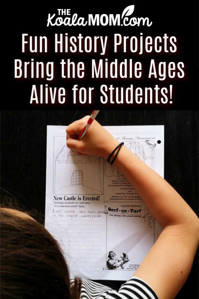 Fun History Projects Bring the Middle Ages Alive for Students!