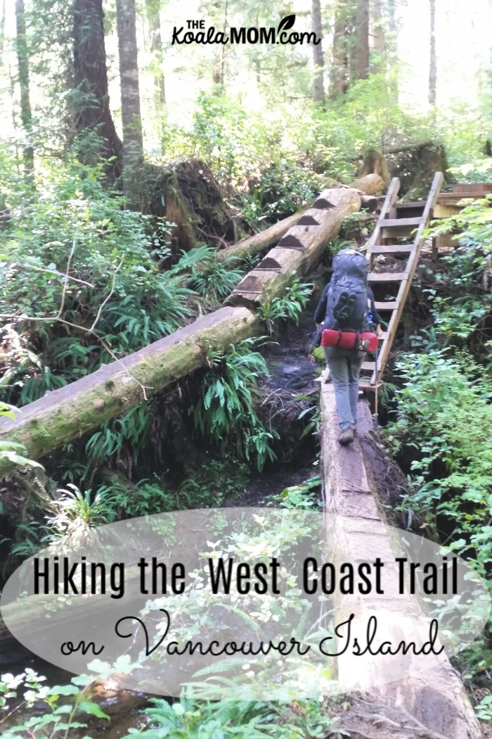 Hiking the West Coast Trail on Vancouver Island