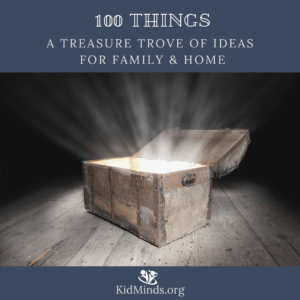 100 Things - a treasure trove of ideas for family & home