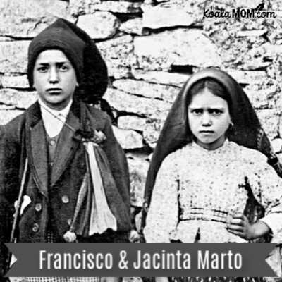 Blessed Francisco & Jacinta Marto, the Fatima children