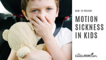 How to Prevent Carsickness in Kids