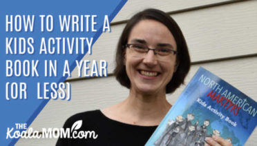 How to Write a Kids Activity Book in a year (or less)